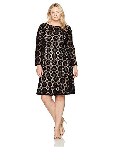 Adrianna Blackpale Kleid AP1D101556W Papell Pink Damen grx10gq6
