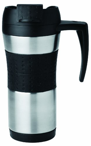 Copco Flair Stainless Steel Tumbler with Handle, 16-Ounce