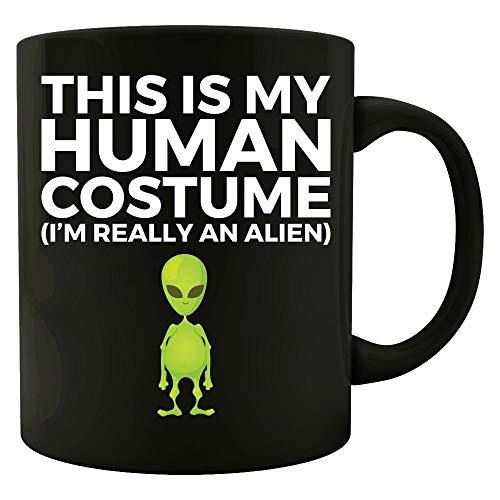 Halloween Human Costume Really an Alien - Mug ()