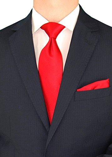 Gino Valentino Men's Two Button Modern Striped Night Navy Suit (38 Regular US / 48 Regular EU) by Gino Valentino (Image #3)