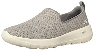 Skechers Women's GO Walk Joy - Rejoice Walking Shoe, Grey, 5 US