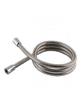 Shower Hose Stainlees Steel 1.25m X 11mm Bore Standard 1//2 BSP Fitting