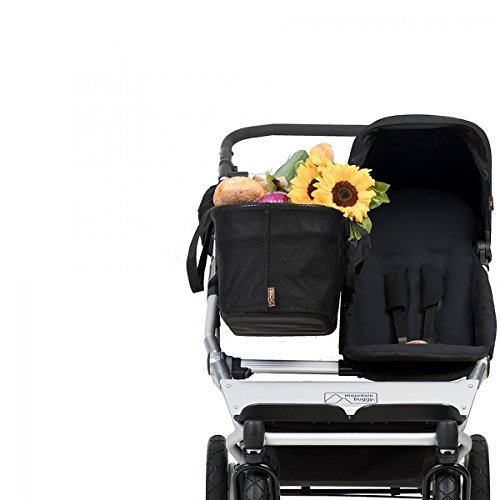 Mountain Buggy Duet 3.0 as a Single Stroller in Black ()