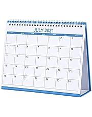 2021-2022 Desk Calendar from Jul 2021 to Jun 2022