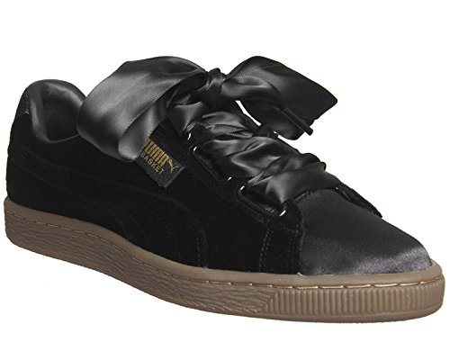 03 S Heart WN Basket Noir Puma 366731 Vs Noir Basket 7H0TgX