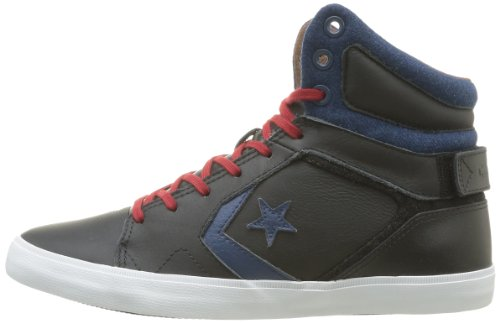 Converse Baskets Mid noir As12 Mode Mixte Noir Adulte Americ bleu qtrOwPEt