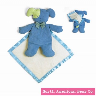 Pastel Pancake Dog with Blanket by North American Bear Co. ()