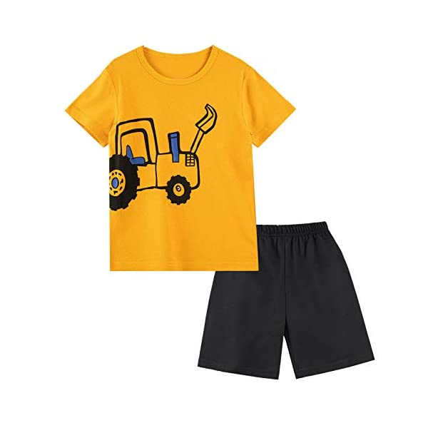 Baby Boys Summer Clothing Sets - Cotton