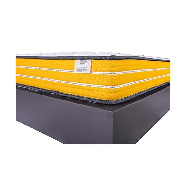 FARMARELAX - Materasso Singolo Memory 80x190 cm, Altezza 23 cm, Ortopedico, Imbottitura MemoryFoam 3 cm, Fascia 3D… 4 spesavip