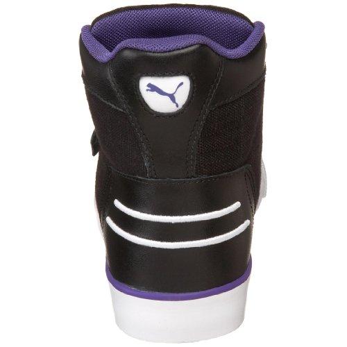 Puma Dames Hooper Wasserij Sneaker Zwart / Team Violet / Middeleeuws Blauw