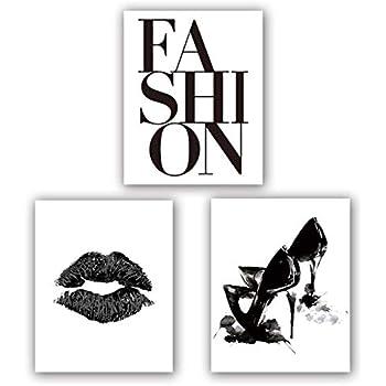 Fashion Art Print Set of 3 (8
