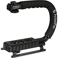 Vello ActionPan Professional Grade Camera and Camcorder Stabilizing Action Grip Handle by Vello