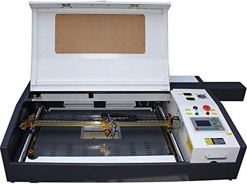 [スポンサー プロダクト]TEN-HIGH CO2レーザー彫刻機DIY加工機 400mm*600mm 60W 110V USBケーブル接続可 Offline版