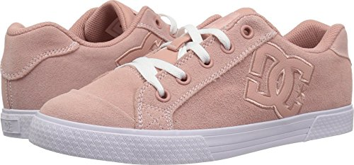 DC Women's Chelsea SE Skate Shoe, Peach Parfait, 8 Medium US