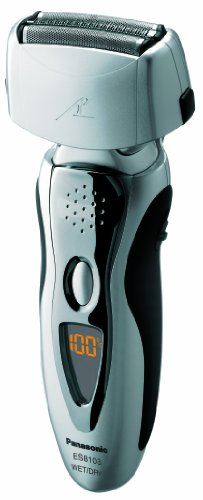 (Panasonic Electric Shaver and Trimmer for Men ES8103S Arc3, Wet/Dry with 3 Nanotech Blades and Flexible Pivoting Head)