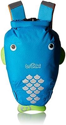 Trunki Kid's Waterproof Swim & Gym Bag - PaddlePak (Blue)