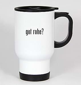 got rohe? - 14oz White Travel Mug