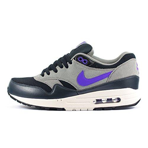 Nike Nike Air Max 1 Essential, Grey - Zapatillas de material sintético hombre negro