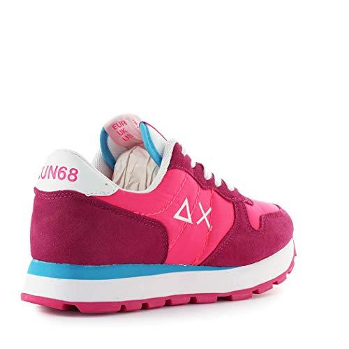 Ally Aux 2019 Sneaker femmes Chaussures Nylon Fuchsia Solide Sun68 SS wfdITI