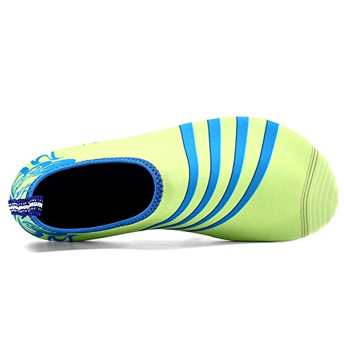 Surf Socks Unisex Yoga Shoes slip Shoes Outdoor Water Breathable Aqua Beach Slip Green Quick Hankyky Dry Anti Shoes Swim on Soft ZdFzzw