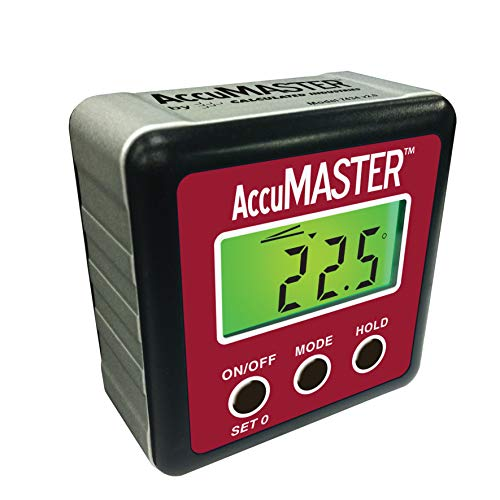 Calculated Industries 7434 AccuMASTER 2-in 1 Magnetic Digital Level and Angle Finder / Inclinometer / Bevel Gauge, Latest MEMs Technology, Certified IP54 Dust and Water Resistant (Best Selling Metal Detector)