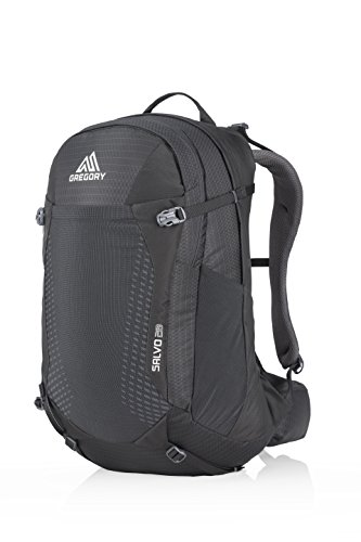 Gregory Mountain Products Men's Salvo 28 Liter Backpack, True Black, One Size
