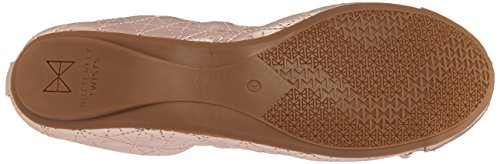 Rose Gold Butterfly Femme Twists rose Fermé Ballerines Bout Olivia Ii q0WAqzUg