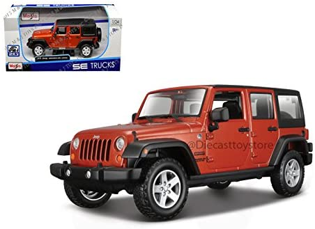 MAISTO SPECIAL WRANGLER UNLIMITED 31268OR product image