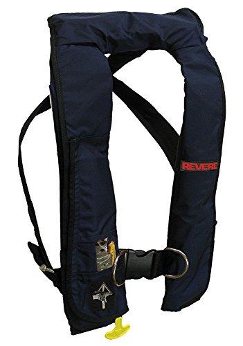 - Revere ComfortMax Inflatable PFD Manual Harness Vest, Navy