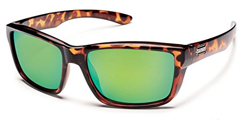 bd9a3ad5fdf81 Suncloud Polarized Sunglasses Mayor in Tortoise with Green Mirror Lens