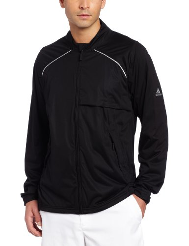 adidas Golf Men's Climaproof Storm Soft Shell Jacket, Black, Large Adidas Black Storm Jacket