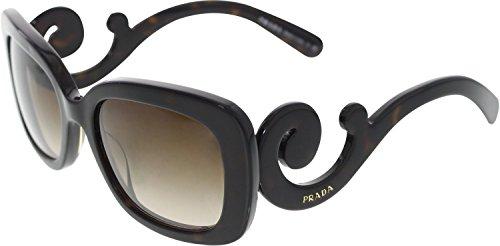 Prada Women's SPR270 Sunglasses, Havana by Prada