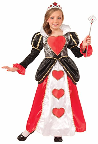 Forum Novelties Sweetheart Queen Costume, Small - Kids Queen Of Hearts Costumes