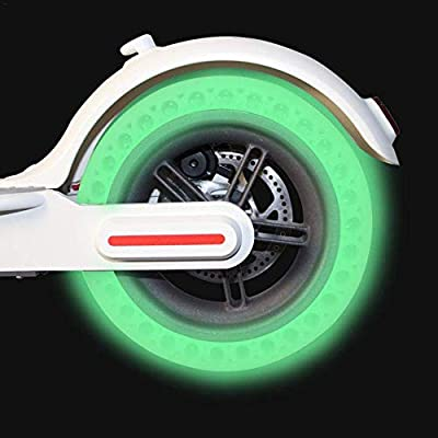 fineshelf 8.5 Inch Electric Scooter Fluorescent Tire Honeycomb Front Back Wheel for Xiaomi Mijia M365 Electric Scooter: Home & Kitchen
