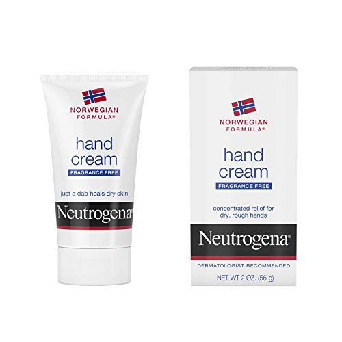 Neutrogena Norwegian Formula Hand Cream, Fragrance-Free (2 Ounce) (Best Hand Cream For Winter)