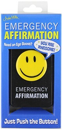 (Samorthatrade Accoutrements Emergency Affirmation Button)