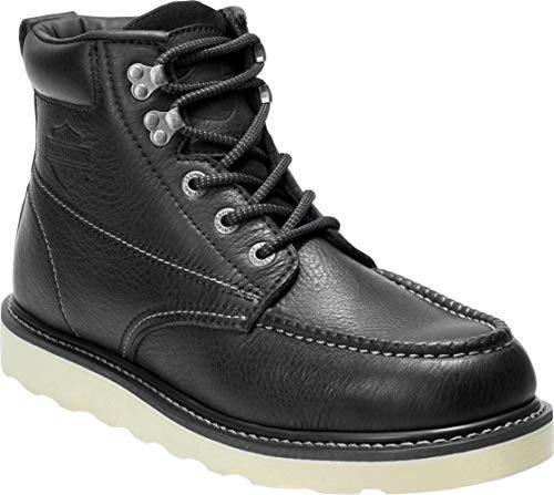 Harley-Davidson Men's Bosworth 5-Inch Casual Work Boots D93571 (Black, 9.5)