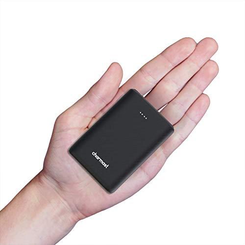 Charmast Mini Draagbare Powerbank Lader 10400mAh Externe Batterij Pack 18W Quick Charge USB C Power Bank Compatibel met…