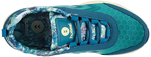 Hummel HUMMEL TRAINSTAR - Zapatillas deportivas para interior de material sintético mujer azul - Blau (Ocean Depths 8240)