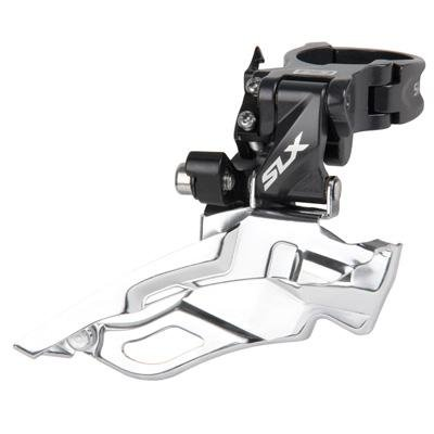 SHIMANO SLX Dyna-Sys 3x10 Mountain Bicycle Front Derailleur - FD-M671A (Direct Mount - Down Swing/Dual Pull)