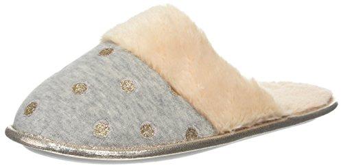 Mule Star Dorothy Foil Pantoufles 150 Gris Charcoal Femme Perkins wFwtqrxEP