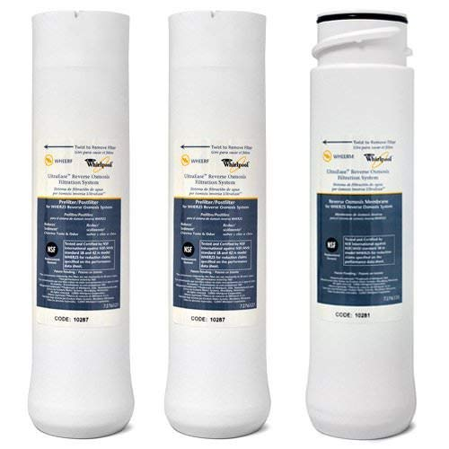 Whirlpool WHER25 and Kenmore UltraFilter 450/650 R.O. Pre and Post Filters