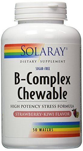 B-Complex Chewable Solaray 50 Chewable