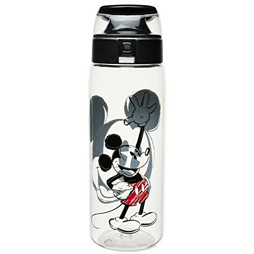 (Zak Designs MMOO-K950-C-AMZ Disney Water Bottles, Tritan, Mickey)