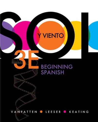 Download Sol y viento: Beginning Spanish Pdf