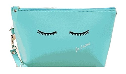 Makeup Teal (Beauty Bar Go Girl! Cosmetic Bag (Teal)