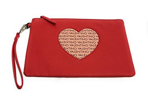 Valentino by Mario Valentino Damen Summer Love Tote, Mehrfarbig (Rosso/Multicolor), 2.5 x 20.0 x 30.0 cm