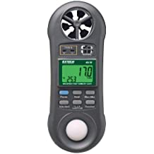 Extech 45170 Four in One Environmental Meter (Hygro-Thermo-Anemometer-Light)