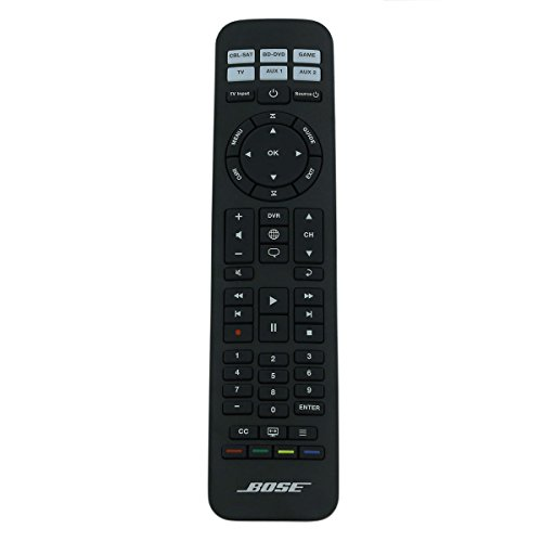 Bose Universal Remote Control for Cinemate Series GS I II/Solo 15 (RC-PWS II / 639414-1020 / Black)