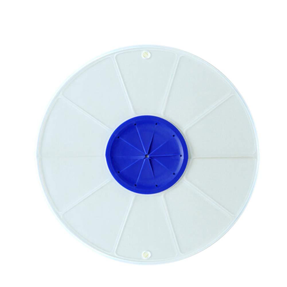 vimbhzlvigour Anti Splash Egg Whisk Mixer Basin Bowl Round Splash-Proof Lid Kitchen Cover